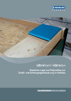 Flyer vibrafoam und vibradyn für Holzbau